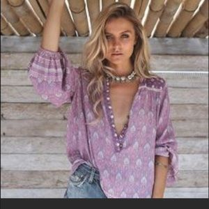 Spell & the Gypsy Oracle Lilac Blouse Shirt